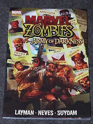 Marvel Zombies / Army of Darkness TPB (2009 Marvel)