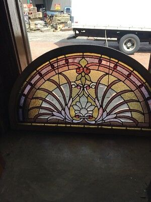 Sg 1528 Amazing Antique Arch Pastel Beveled 43.5 X 24 H