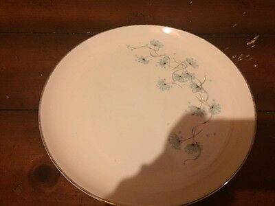 Taylor Smith Taylor Blue Lace Dinner Plates  x2