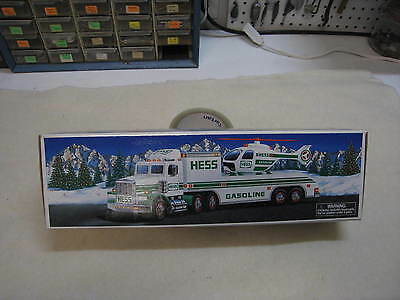 1996 HESS TRUCK with Helicopter