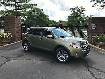 2013 Ford Edge Limited Sport Utility 4-Door 2013 FORD EDGE LIMITED_NAVIGATION_SYNC_HTD LEATHER_REBUILT SALVAGE_NO RESERVE !