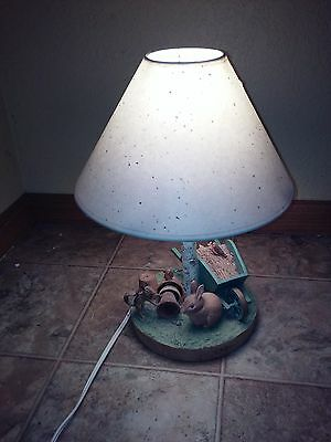 Marjolein Bastin Nature's Garden Sketchbook Kids Child's Table Lamp With Shade