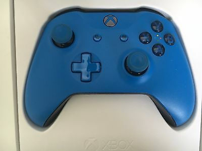 Microsoft Xbox one Wireless Controller - Blue (with 3.5mm jack and Bluetooth)