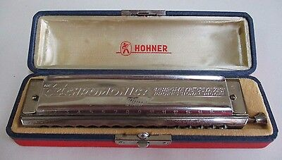 Hohner 64 Chromonica - Professional Model - 16 Holes - 4 Octaves - German Made