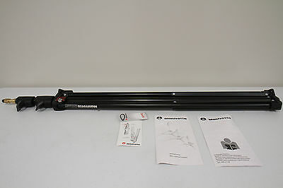 2 x Manfrotto 1052BAC 93in Air Cushioned Compact Stand - Ex Cond!