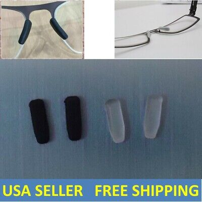 c55aa23a4a 2 Pairs Silicone Nose Pads Replacement Kit For IC! Berlin Sunglasses Eye  Glasses