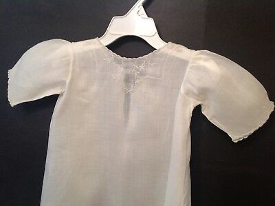 Sweet Vintage Baby Christening Gown Baptism Dress Nice