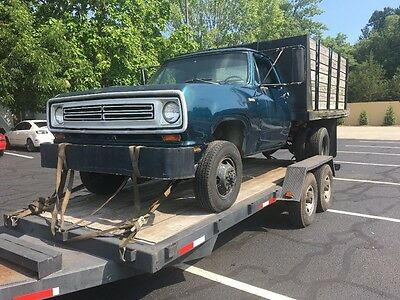 1972 Dodge Power Wagon  1972 Dodge truck W300 power wagon 4x4 RARE ONLY 943 made