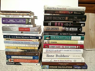 Lot of random books.