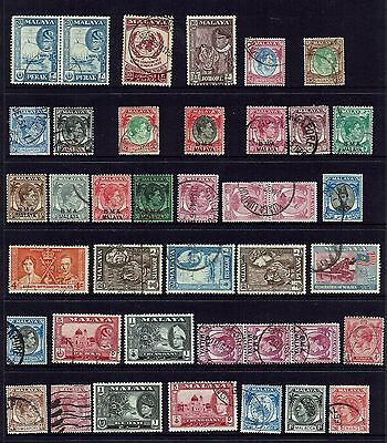 Malaya /states Singapore.bma.. Collection To $5.00...