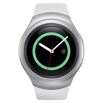 Openbox New White Samsung Galaxy Gear S2 R730a Stainless Steel. GSM Unlocked
