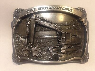 Caterpillar  Excavator  Collector  - Belt Buckle