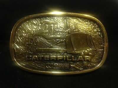 Caterpillar Bulldozer-WHAYNE CAT  - Belt Buckle