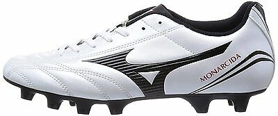 d083cef6f New MIZUNO soccer shoes Spike MONARCIDA FS MD P1GA1523 Super white pearl x  black