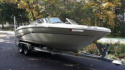 2003 Sea Ray 220 Select 23 Ft Bow Rider with Trailer