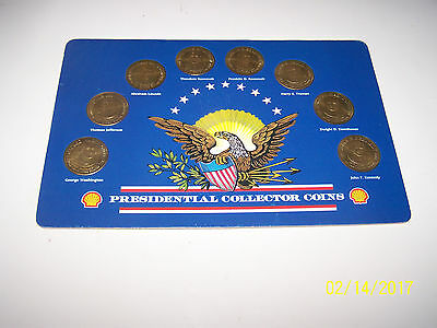 1992 Shell Oil Presidential Collector Coins