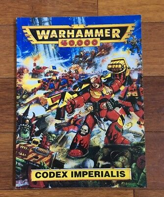Warhammer 40k 40,000 Codex Imperialis Handbook Book