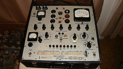 Hickok 539A Tube Tester With Manual