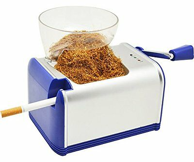 IBAMA Electric Cigarette Injector Maker Rolling Machine with Tobacco Hopper