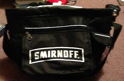 Official Rare Smirnoff Vodka Soft Carrying Case Employee Exclusive