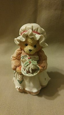 "Cherished Teddies MRS. CRATCHIT ""A beary Christmas and a happy new year"" 1994"