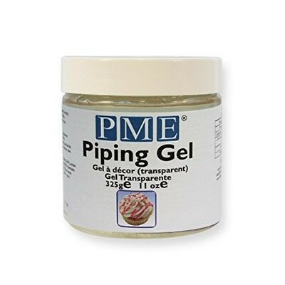 PME 325g Piping Gel Cake Baking Icing Decorating Clear Transparent Handy
