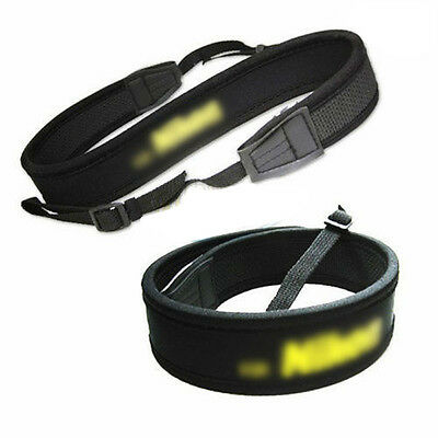 Photo Soft Neoprene Shoulder Neck Strap Sling Belt for Nikon Camera US Free Ship