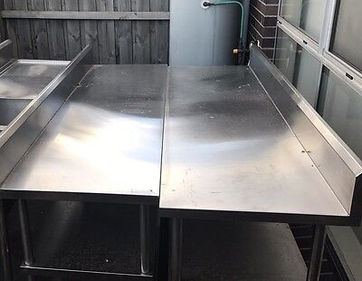 High Quality Commercial Stainless Steel Kitchen Benches