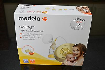 Medela Swing Electric Breast Pump with Calma and Medela Nipple Shields Free P&P