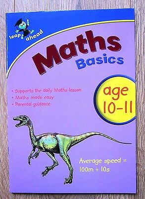 Maths Educational Activity Book Year 6 Home Learning Children Age 10 11 KS2