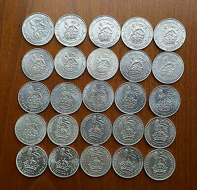 George V Shillings 1911 to 1936 - Choose your date