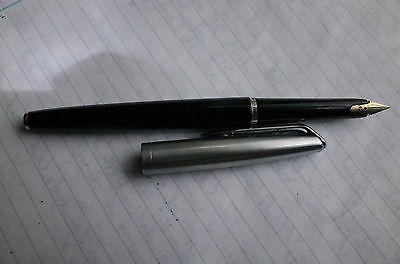 Waterman CF C/F M nib 14k RARE Vintage Fountain Pen - with even rarer converter