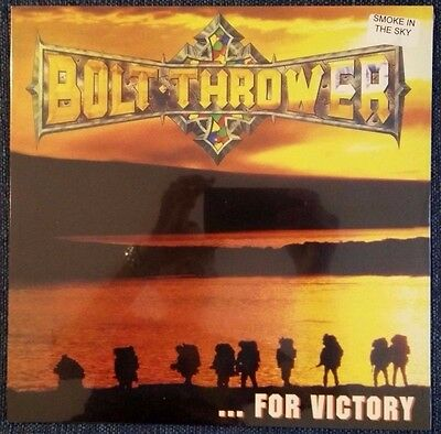 BOLT THROWER – ...For Victory – SMOKE LP (LTD 200) – NEW & SEALED