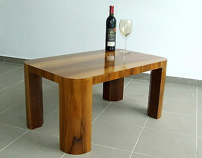 Art Deco Coffee Table, Occasional Wine Walnut. Vintage Antique 1920s.