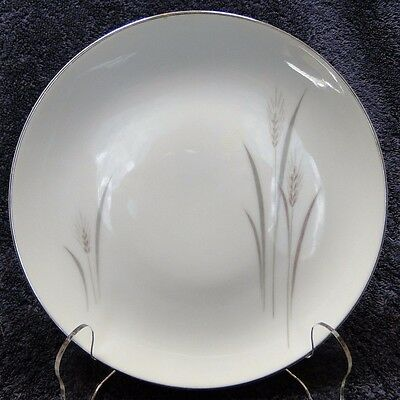 """Fine China of Japan Platinum Wheat Bread Plate 6 3/8""""  EXCELLENT!"""