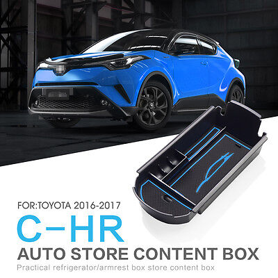 For TOYOTA C-HR 2016 CHR Armrest Box Storage Stowing  Center Console Organizer