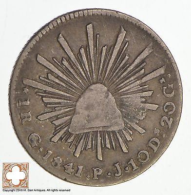 1841 Mexico 1 Real *5222