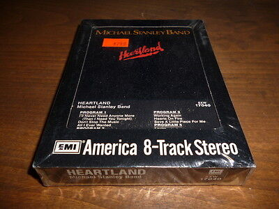 Michael Stanley Band Heartland 8-Track Tape Sealed