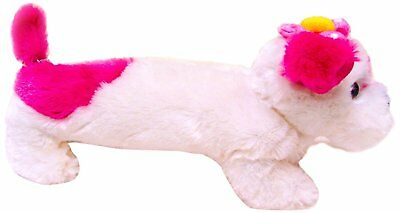 Inkology Plush Toy Dog Pencil Pouch, Multicolored 494-3