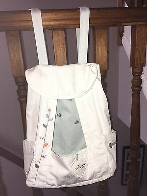 Mamas and Papas Scrapbook Nappy Stacker Blue and White