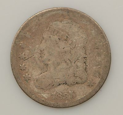 1835 Capped Bust Silver Half Dime *G89