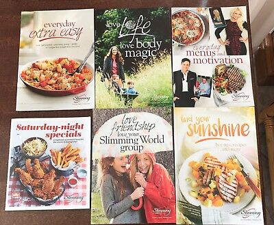 Slimming World Books - Set Of 6