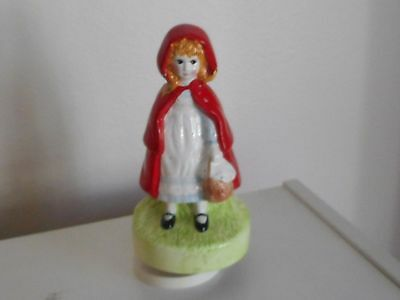1988 Little Red Riding Hood Schmid Music Collectible Extremely Rare & Limited