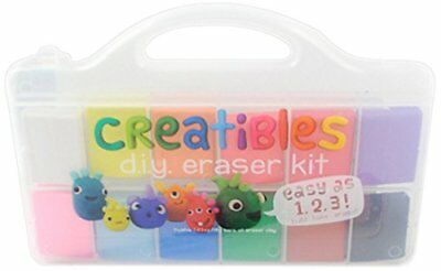 OOLY is now newly OOLY, Creatibles DIY Erasers, Set of 12 161-001