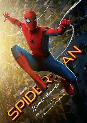 SPIDERMAN HOMECOMING POSTER Iron Man Spider-man Poster A4 A3