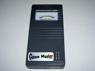Gauss Meter - Electro Magnetic Field Sensor Meter in Box with Instructions
