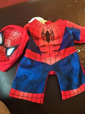BUILD A BEAR New Spider-Man Morph Outfit