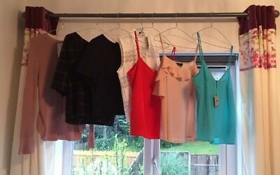 NEW TAGS Ladies CLOTHES Bundle SIZES 14 Summer Tops Next New Look  🍃🌷rrp£140
