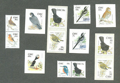 Ireland-Various Birds priced
