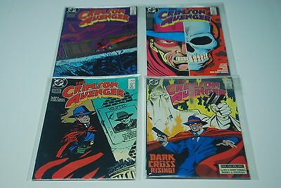 The Crimson Avenger 1-4 1 2 3 4 Four Issue Complete Miniseries DC 1988